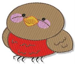 Plump Cartoon Bird embroidery design