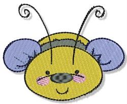 Cute Cartoon Bumblebee embroidery design