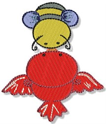 Birds & Bees embroidery design