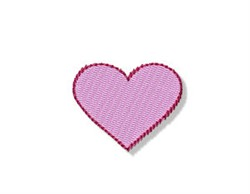 Birds & Bees Heart embroidery design
