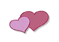 Birds & Bees Hearts embroidery design