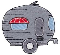 Cartoon Camper embroidery design