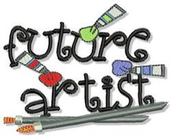 Future Artist embroidery design