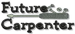 Future Capenter embroidery design