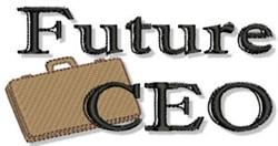 Future CEO embroidery design