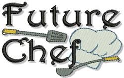 Future Chef embroidery design
