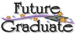 Future Graduate embroidery design