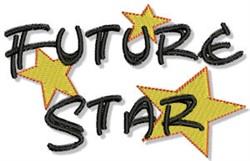 Future Star embroidery design