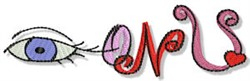 Eyes On You embroidery design