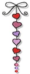 Valentine Decoration embroidery design