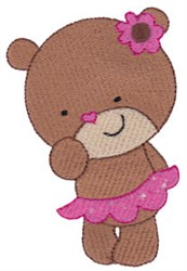 Teddy Bear Valentine embroidery design