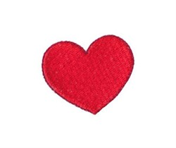 Little Valentine Heart embroidery design