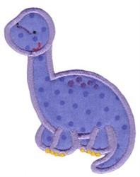 Brontosaurus Applique embroidery design