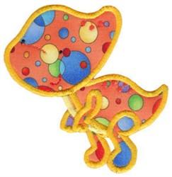 Dinosaur Applique embroidery design