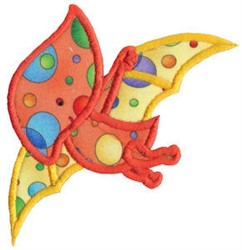 Pterodactyl Applique embroidery design
