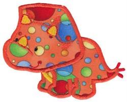 Triceratops Applique embroidery design