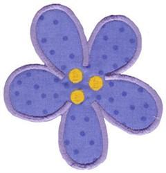 Dinomite Floral Applique embroidery design