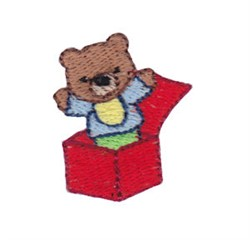 Mini Baby Jack-In-The-Box embroidery design