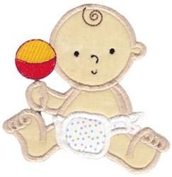 Applique Baby embroidery design