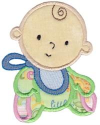 Baby Boy Applique embroidery design
