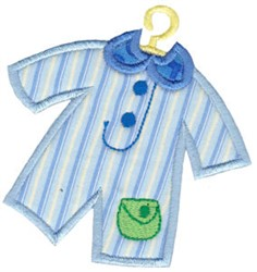 Baby Outfit Applique embroidery design