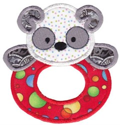 Baby Teether Applique embroidery design