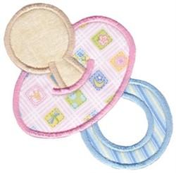 Baby Pacifier Applique embroidery design