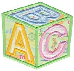 Toy Block Applique embroidery design