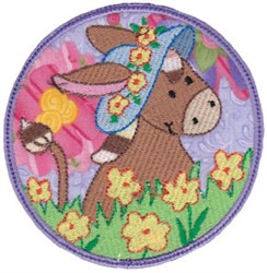 Easter Animal Applique embroidery design