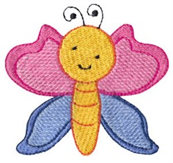 Spring Butterfly embroidery design