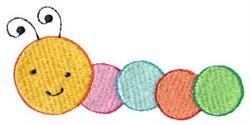 Spring Caterpillar embroidery design