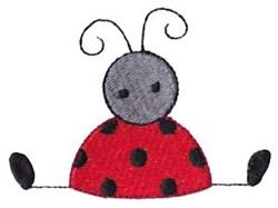 Cute Spring Ladybug embroidery design