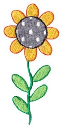 Spring Daisy embroidery design