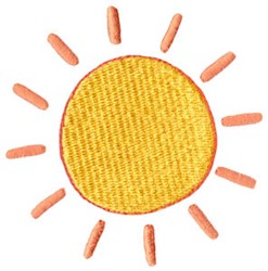 Springtime Sunshine embroidery design