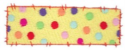 Raggedy Patchwork Patch embroidery design