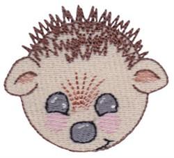 Hedgehog Head embroidery design