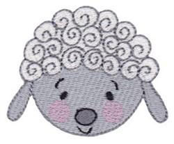 Sheep Head embroidery design