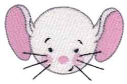 Mouse Head embroidery design