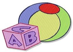 Block & Ball embroidery design
