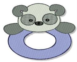Panda Ring embroidery design