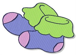 Baby Socks embroidery design