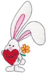 Love Bunny embroidery design