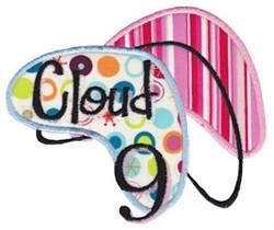 Cloud 9 embroidery design