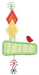 Retro Applique embroidery design