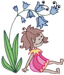 Thumbelina embroidery design