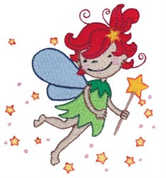 Tinker Bell embroidery design