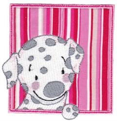 Dalmatian embroidery design