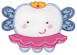 A Tooth Fairy embroidery design