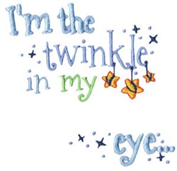 Im The Twinkle embroidery design