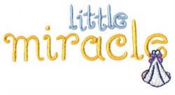 Little Miracle embroidery design